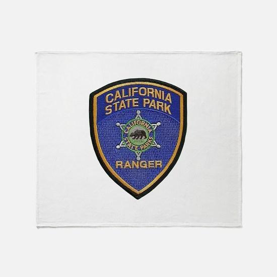California State Park Ranger Throw Blanket