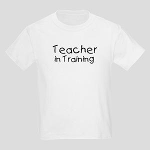 Teacher in Training Kids Light T-Shirt