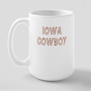 Iowa Large Mug
