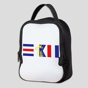 Nauti-Cat Neoprene Lunch Bag