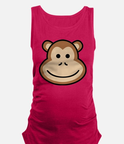 Cute Apes and babes Maternity Tank Top