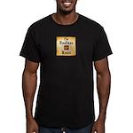 Endless Knot Logo Men's Fitted T-Shirt, Dark