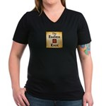 Endless Knot Logo Women's V-Neck T-Shirt
