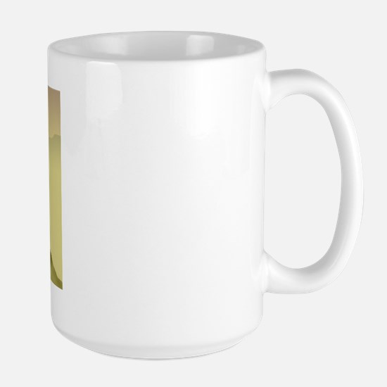 Hazy Sunrise Bouvier Large Mug