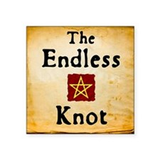 Endless Knot Logo Sticker