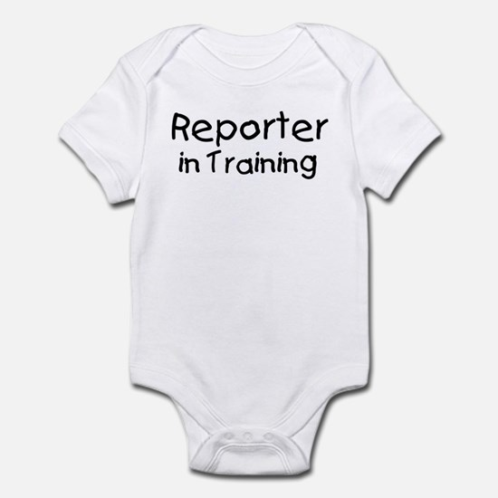Reporter in Training Infant Bodysuit
