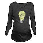 Drawing Ideas Long Sleeve Maternity T-Shirt