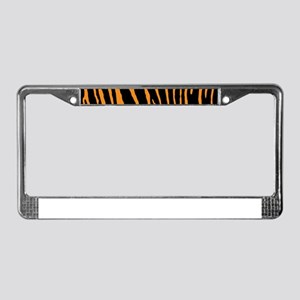 2b6a669874 Car Accessories. Tiger Stripes License Plate Frame