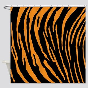 Tiger Stripes Shower Curtain