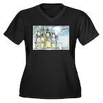 Halloween 45 Women's Plus Size V-Neck Dark T-Shirt