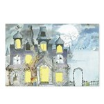 Halloween 45 Postcards (Package of 8)