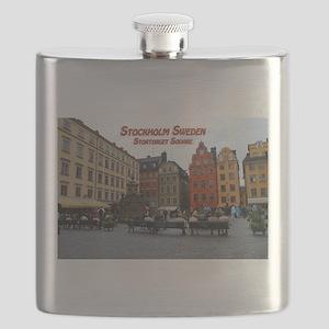 Stortorget Square - Stockholm Sweden Flask