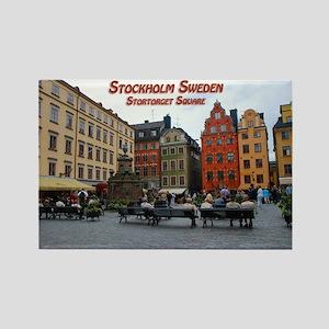 Stortorget Square - Stockholm Sweden Magnets