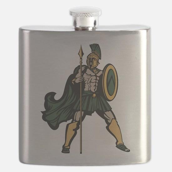 Spartan Warrior Flask