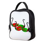 Christmas Gander Style Neoprene Lunch Bag