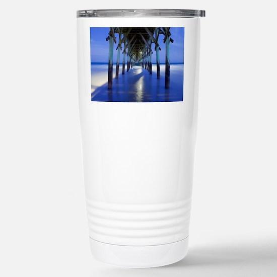 Cute Topsail beach Travel Mug