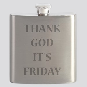 Thank God It`s Friday Flask