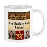 Endless Knot Podcast Logo Mugs