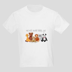 We Roll Mad Deep, Yo Kids Light T-Shirt