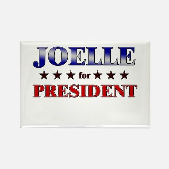 JOELLE for president Rectangle Magnet
