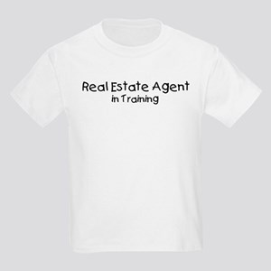 Real Estate Agent in Training Kids Light T-Shirt