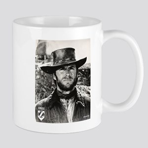 Clint Eastwood Black and White Mug