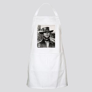 Clint Eastwood Black and White Apron