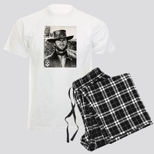 Clint Eastwood Black and Whit Men's Light Pajamas