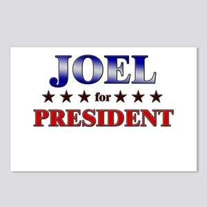 JOEL for president Postcards (Package of 8)