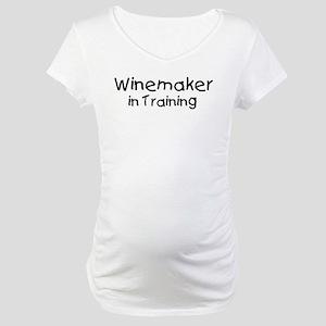 Winemaker in Training Maternity T-Shirt