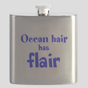 Ocean hair has flair Flask