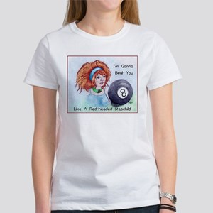 8 Ball Billiards Stepchild T-Shirt