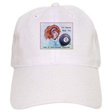 8 Ball Billiards Stepchild Baseball Cap