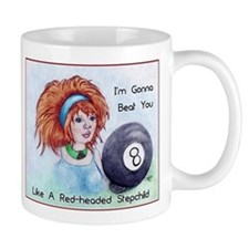 8 Ball Billiards Stepchild Mugs