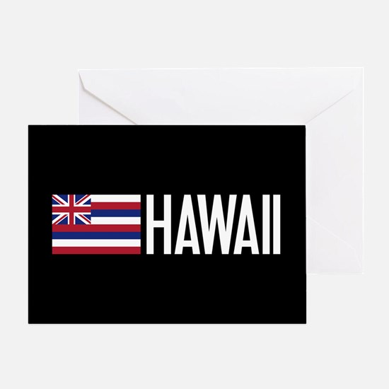 Hawaii: Hawaiin Flag & Hawaii Greeting Cards