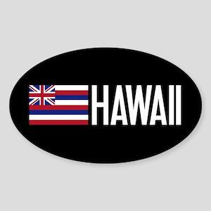 Hawaii: Hawaiin Flag & Hawaii Sticker