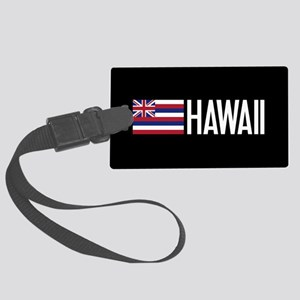 Hawaii: Hawaiin Flag & Hawaii Luggage Tag