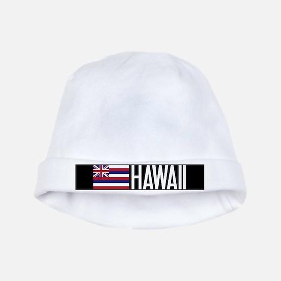Hawaii: Hawaiin Flag & Hawaii baby hat