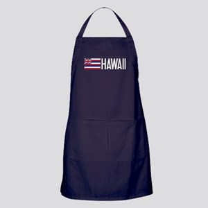 Hawaii: Hawaiin Flag & Hawaii Apron (dark)