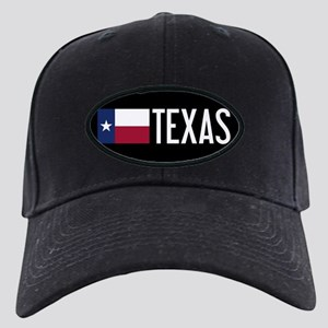 Texas: Texan Flag & Texas Black Cap