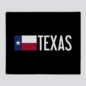 Texas: Texan Flag & Texas Throw Blanket