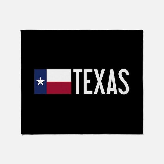Texas: Texan Flag & Texas Throw Blanket