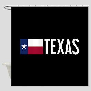 Texas: Texan Flag & Texas Shower Curtain
