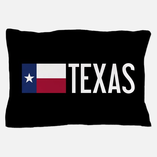 Texas: Texan Flag & Texas Pillow Case