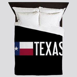 Texas: Texan Flag & Texas Queen Duvet