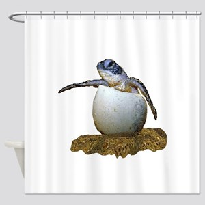 HATCHLING Shower Curtain