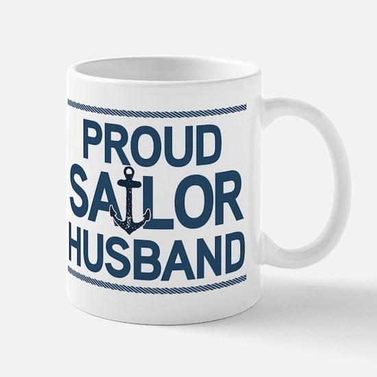 Proud Sailor Husband Mug