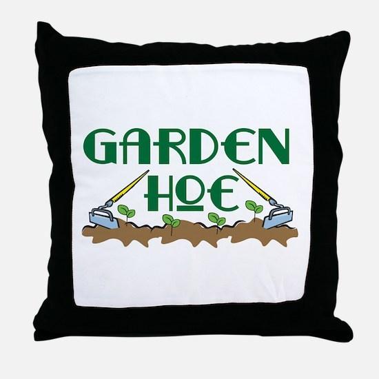 Garden Hoe Throw Pillow