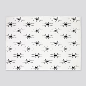 Black Widows Pattern 5'x7'Area Rug