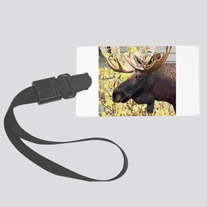 Moose Luggage Tag